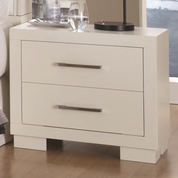 Charmant Jessica Collection Bedroom Set White Color
