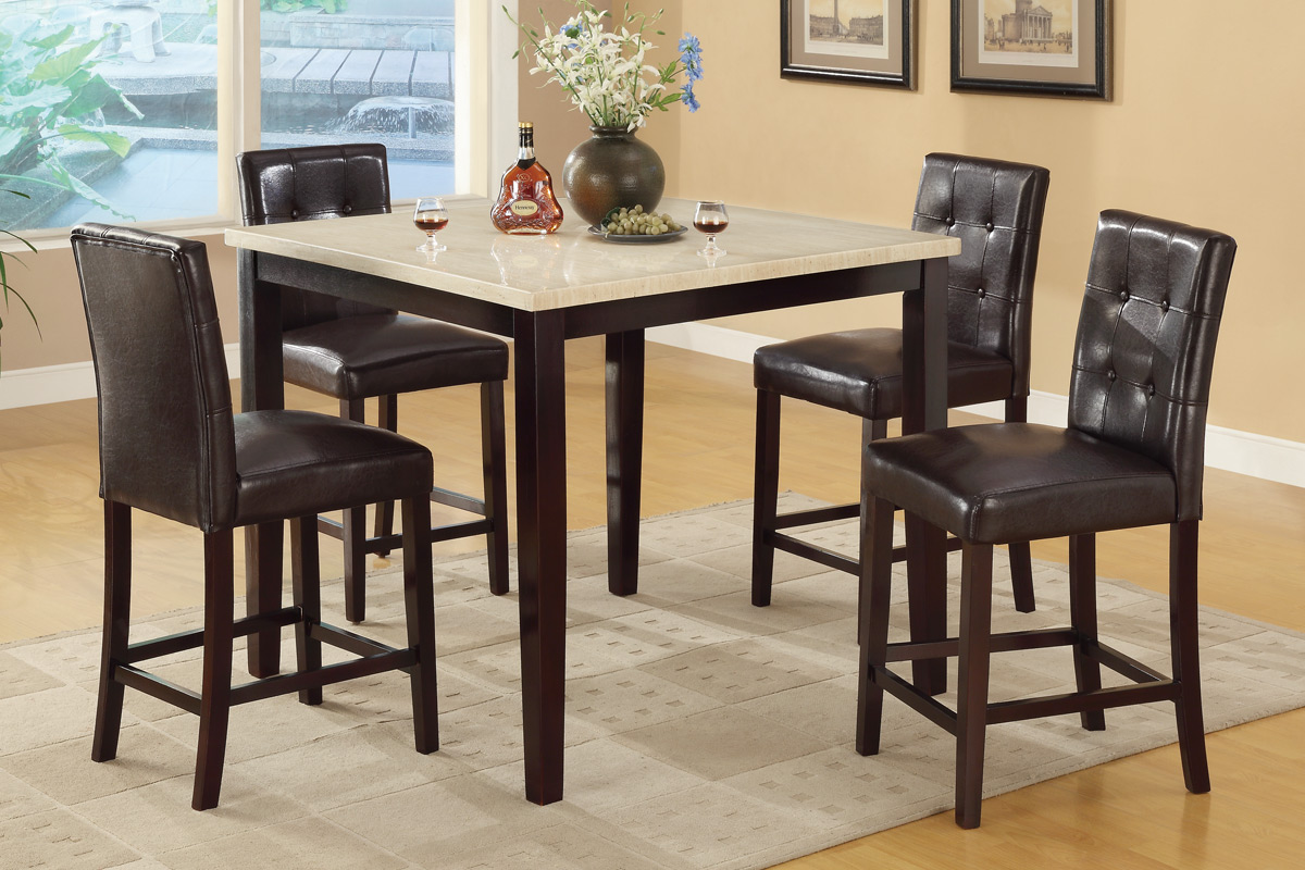5 Pc Counter Height Dining Set # 2338PX