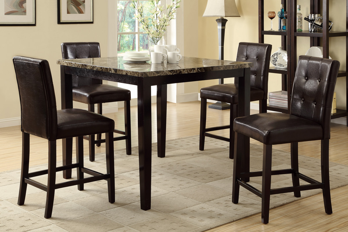 5 Pc Counter Height Dining Set # 2339PX
