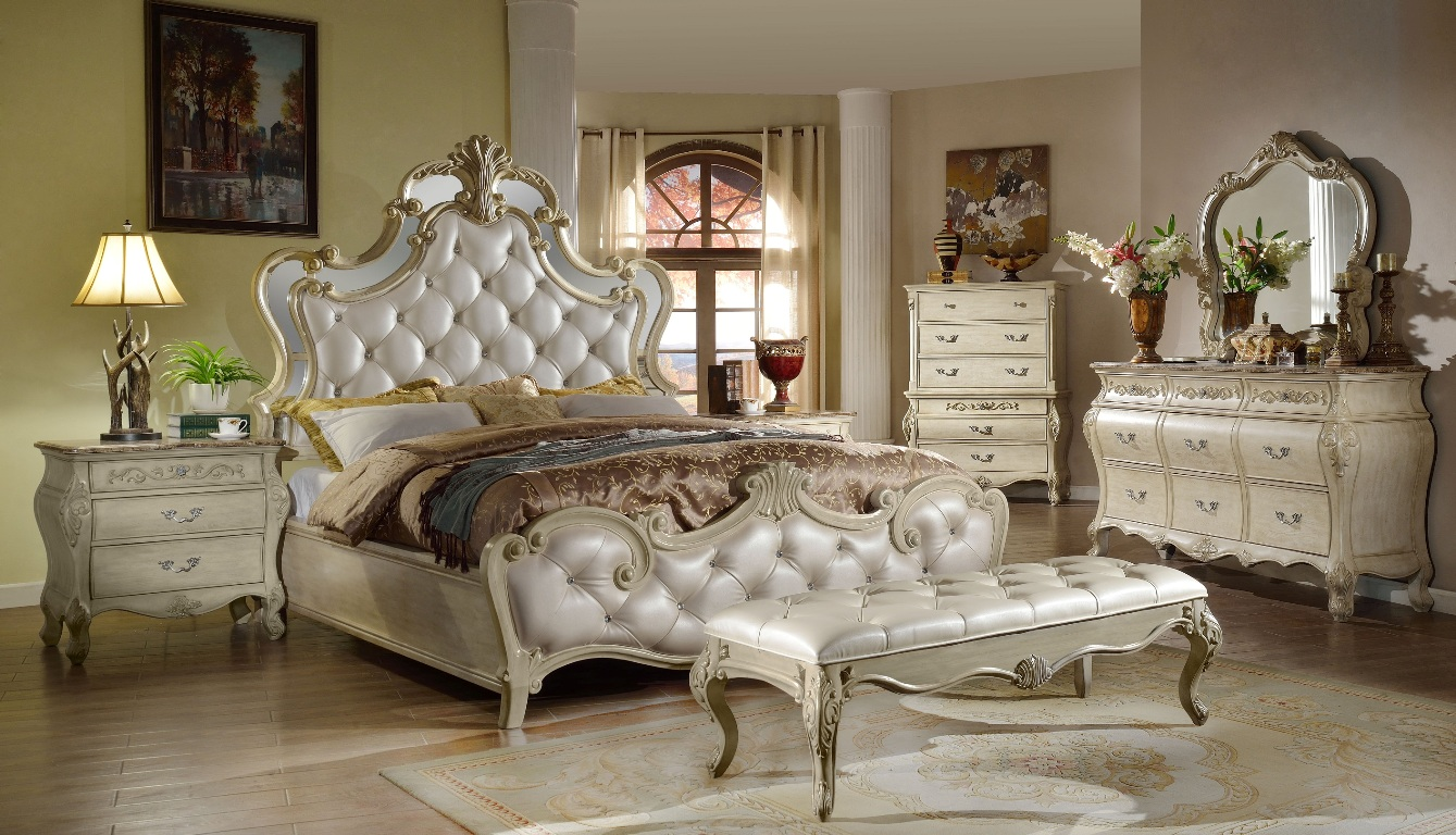 Montreal collection bedroom set b8303 casye for Bedroom furniture montreal