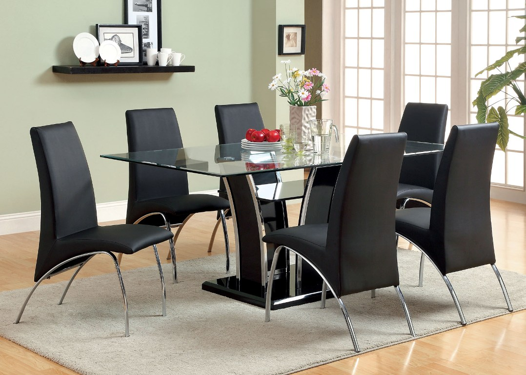 7pc Dining set Glenview Collection - Casye FurnitureCasye Furniture