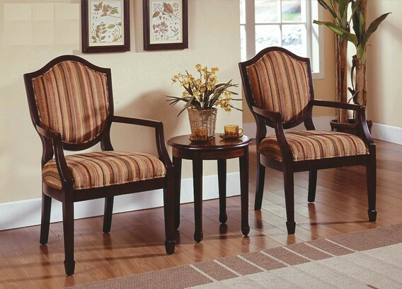 Traditional Accent Chairs and Table Set 3pc Cinnamon Fabric. Return to Previous Page. lightbox & Traditional Accent Chairs and Table Set 3pc Cinnamon Fabric - Casye ...