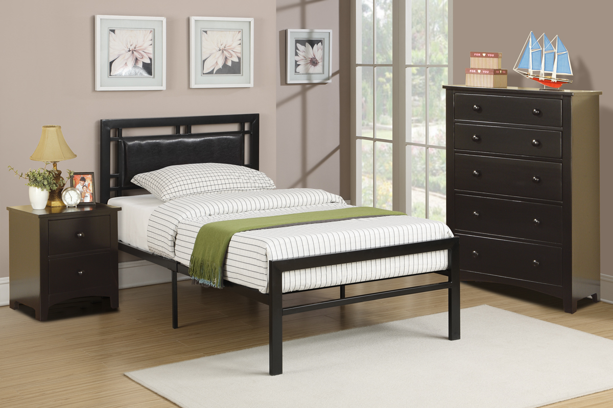 Platform Bed Twin or Full size 9413PX - Casye FurnitureCasye Furniture