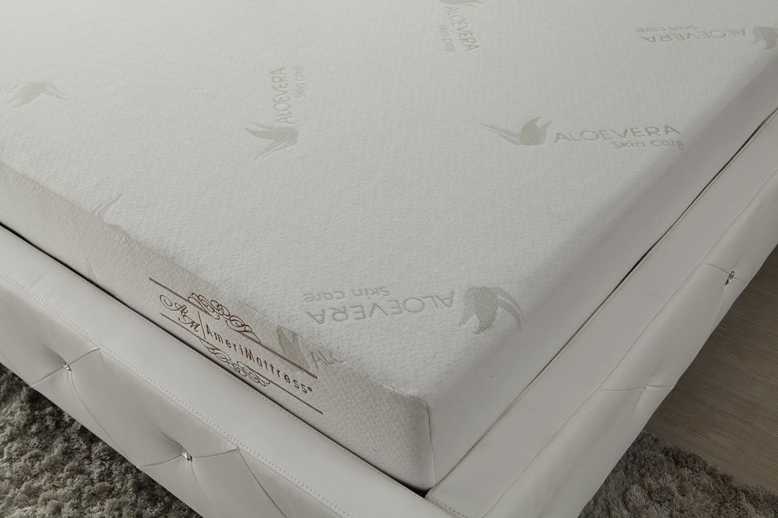 6 Memory Foam Mattress With Removable Aloe Vera Cover Casye Furniturecasye Furniture