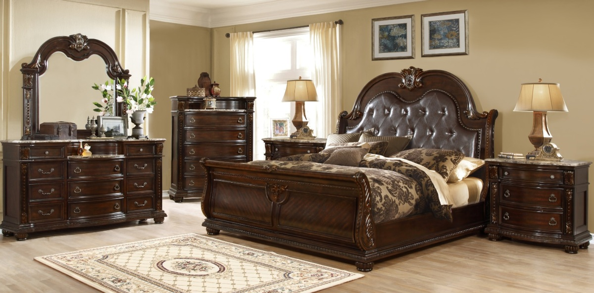 Stanley Brown Bedroom Collection B1600
