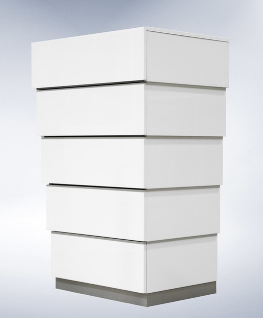 Lacquer Bedroom Furniture: Florence Collection Bedroom Set, White Lacquer Finish