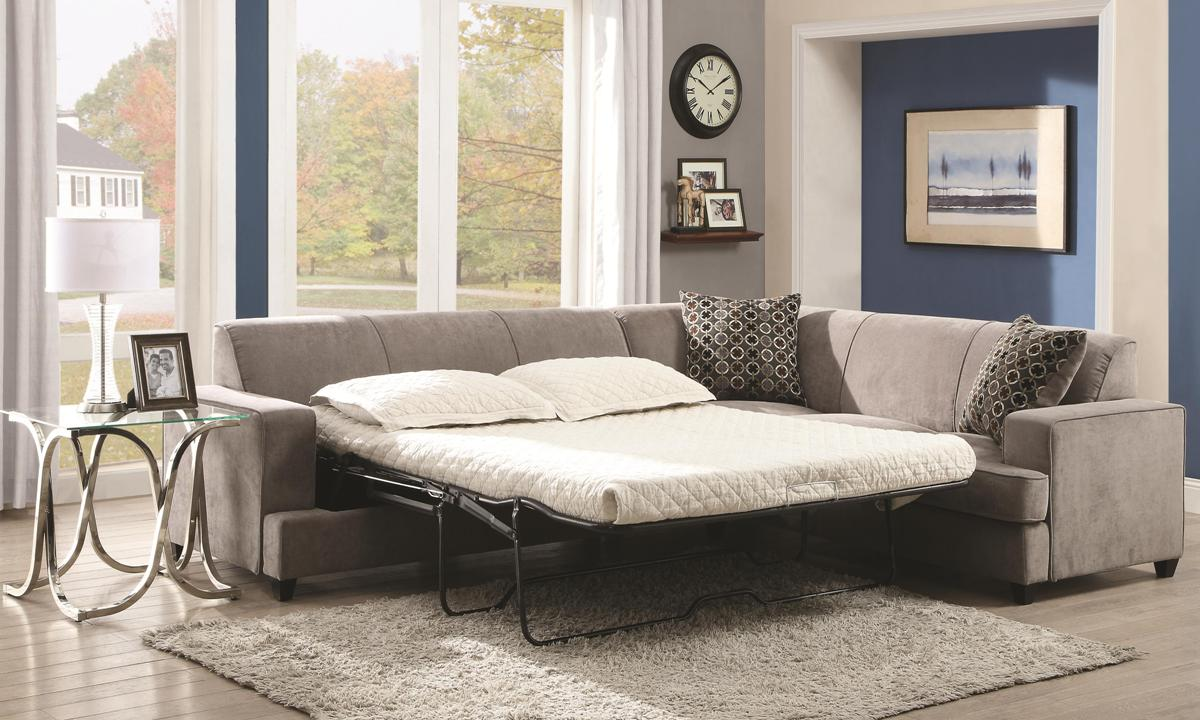 Tess Sectional Sofa Sleeper 500727 Casye Furniture
