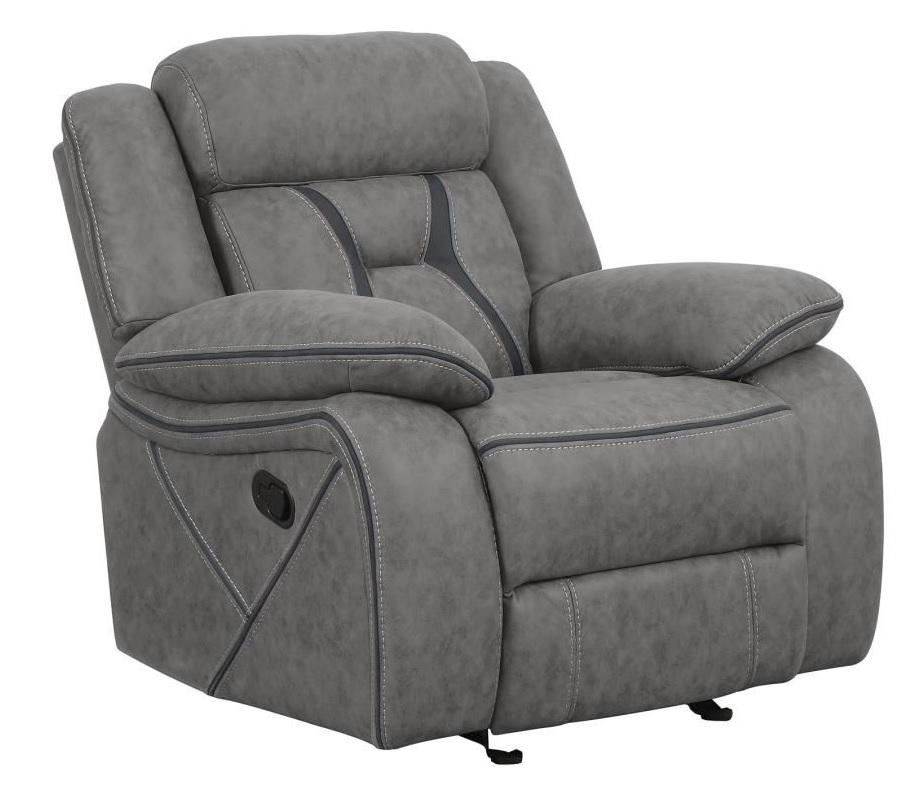 Living Room Sets Houston: Houston Motion Living Room Set Gray Color, 602261