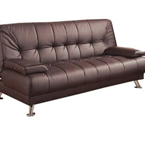 Phenomenal Dark Brown Futon Sofa Bed 300148 Creativecarmelina Interior Chair Design Creativecarmelinacom