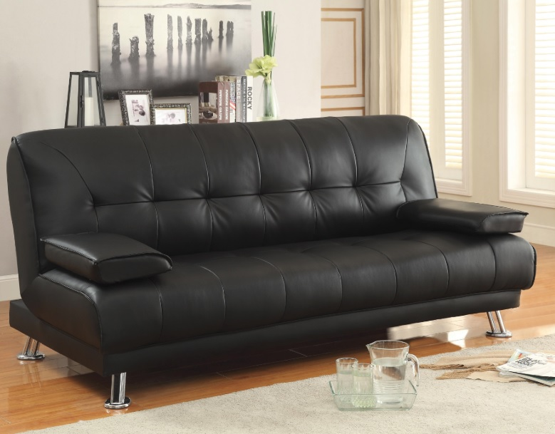 Terrific Dark Brown Futon Sofa Bed 300205 Creativecarmelina Interior Chair Design Creativecarmelinacom