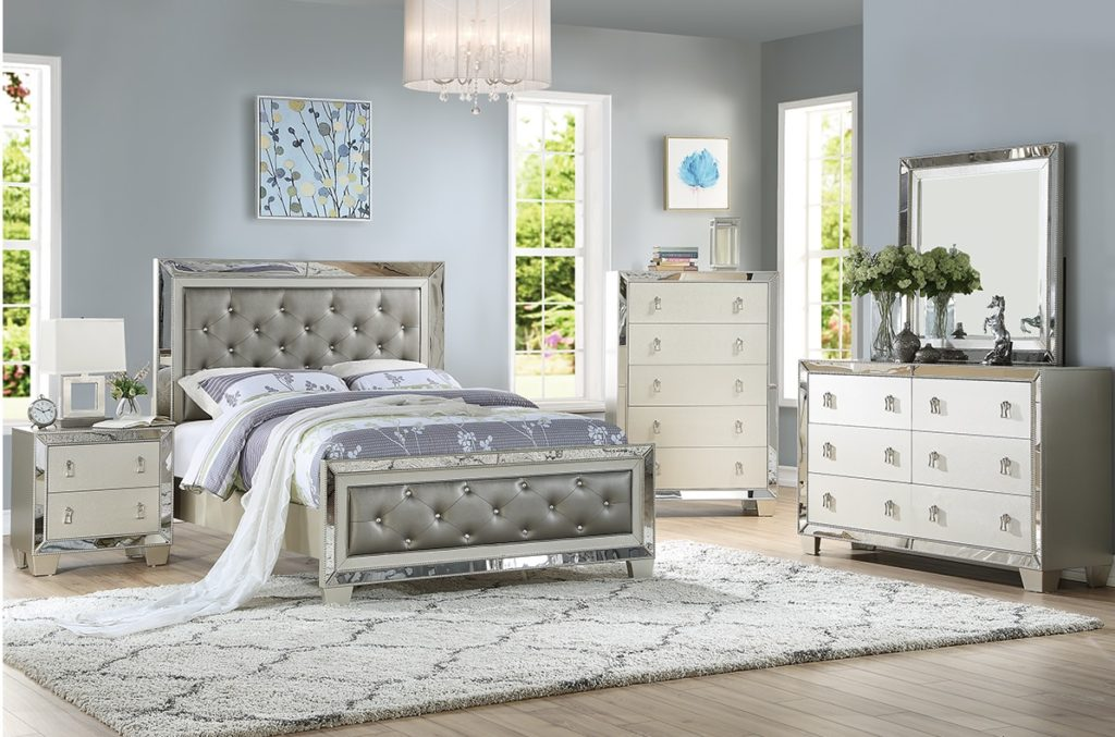 Melani Collection Bedroom Set F9428 Casye Furniture